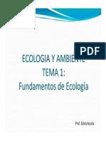 Tema 1 Ecologia y ambiente 2014