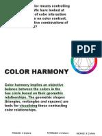 ColorHarmony