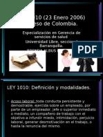 Ley 1010 (23 Enero 2006)
