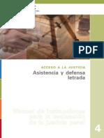 Manual Instrucciones Para La Evaluacion de Justicia Penal