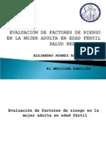 Evaluación de Factores de Riesgo en La Mujer