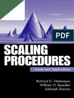 Scale Procedures