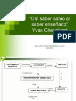 Chevallard ppt (3) Programación de Una Unidad Didáctica