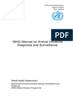 WHO Manual on Animal Diagnosis and Surveillance