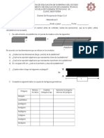 Examen de Recuperación Bloque 3 y 4