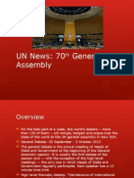 un news and research powerpoint