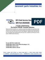 RPI Field Spare Parts Maintenance for STATIM Cassette Autoclave