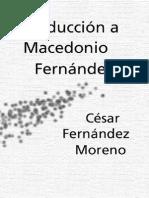 Fernandez Moreno, Cesar - Introduccion a Macedonio Fernandez