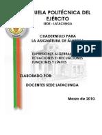 Cuadernillo de La ESPE