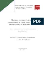 Lic Fisica 20-02-15 Adscripción MaterialExperimentalDeLosLaboratoriosDeFisicaBasicaI II IIIDelEquipamientoAdquiridoEn2013