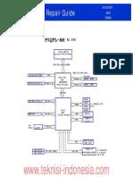 Asus p5qpl-r1.03g - Reparação