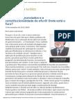 ConJur - Febre de enunciados no NCPC e a (in)constitucionalidade do ofurô.pdf