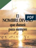 1984 Nombre Divino-baja