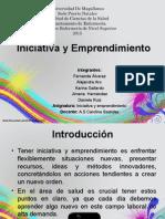 Iniciativa y Emprendimiento