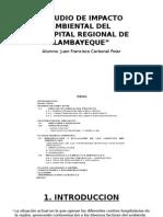 Estudio de Impacto Ambiental Del Hospital Regional Lambayeque
