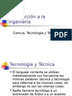Ciencia Tecnologia y Tecnica