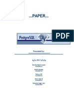 Paper PostgreSQL KelDoraDori