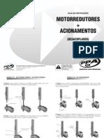Guia de Instrucoes Motorredutor e Acionamento (Desacoplados)