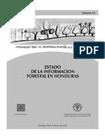 Estado de la Informacion Forestal de Honduras