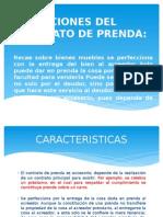 Diapositivas de La Prenda