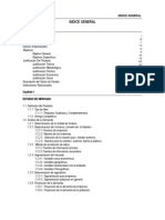 Indice Plan de Negocios Consolidado 2013