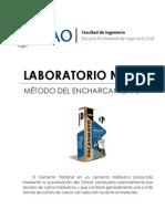 Lab01 - Encharcamiento Del Cemento (UPAO) - TECNOCO