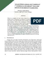 Dudung Abduiahman Reaktualisasi Peng Amalan Tarekat Melalui Lembagainabah Dalam Penyembuhan Korean Narkoba