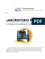 Lab05 - Contenido de Humedad (UPAO) - TECNOCO
