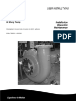 Pump User Instructions m Slurry