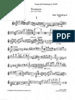 Prokofiev - Sonata for 2 Violins Op.56 Violin I