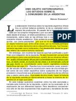 Camarero - La Izquierda Como Objeto Historiográfico