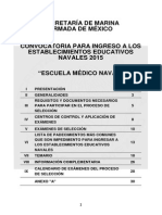 Convocatoria Medico as 2015