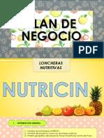 Plan de Negocio Nutricin
