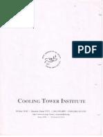 CTI - Recommended Procedure for Air Flow Measurement