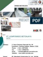 Materi Precast Concrete - PT KOBE Oleh Pono Budi Handoko (Edit)