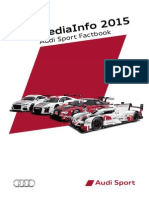 2015 Audi Sport Fact Book