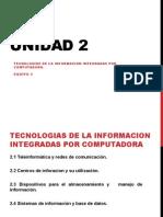 UNIDAD 2 Manufactura TELEINFORMATICA