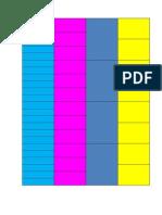 Fichas de Frações - PDF