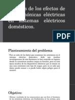 Análisis de Los Efectos de Las Armónicas Eléctricas