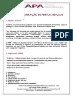 Informações Sobre o Curso de Formação de Peritos Presencial Em Goiânia