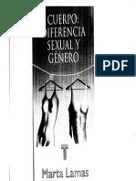Cuerpo Sexualidad, diferencia sexual, genero, mujeres