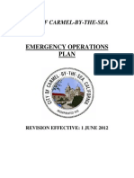 Emergency Operations Plan 2012