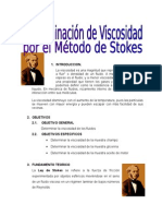 determinacion de viscocidad