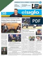 Edición Impresa El Siglo 30-09-2015