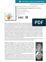 Novedades 01-14 Psicoterapia Integrativa