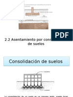 2.2 Asentamiento Por Consolidacion Primaria