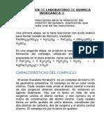 1er Examen de Laboratorio Inorganica III Preguntas en Word 2014