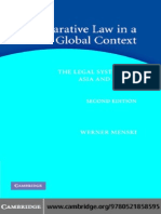 Comparative Law in a Global Context