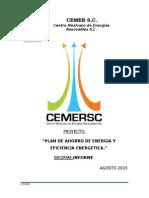 Plan de Ahorro Energetico y de Eficiencia Energetico