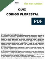 Quiz Cod Florestal